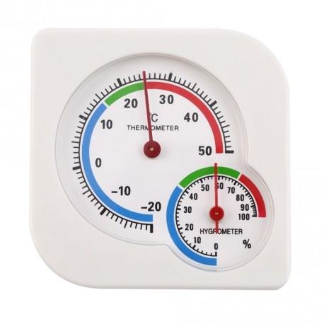 Analog Thermometer med Hygrometer
