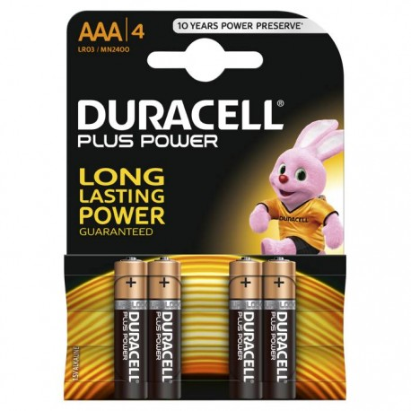 Duracell Plus Power AAA batteri