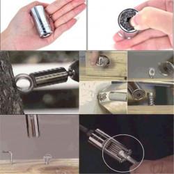 Universal topnøgle 7-19mm