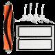 Xiaomi RoboRock filter og børster