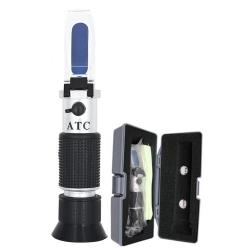 Refraktometer til test af bilbatteri, frostvæske  m.m.